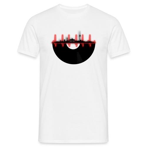 Berlin Skyline Beats - Männer T-Shirt