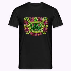 Viracocha Front: Men Classic Shirt - Mannen T-shirt
