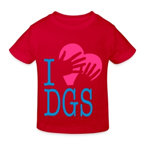 Kinder Bio T-Shirt (I love DGS) - Kinder Bio-T-Shirt