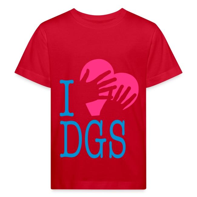 Kinder Bio T-Shirt (I love DGS)