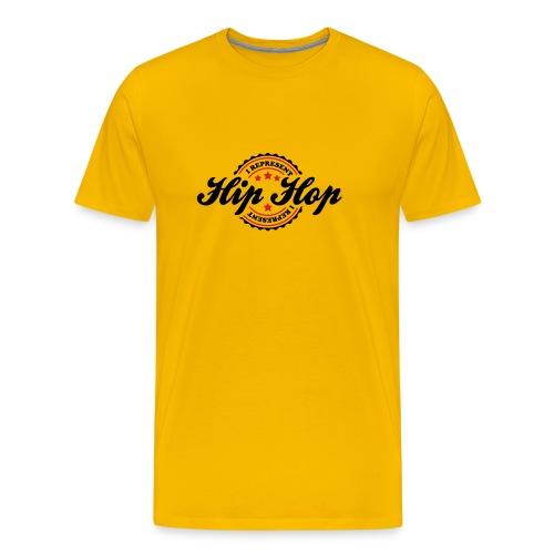 I represent Hip-Hop! - Premium T-skjorte for menn