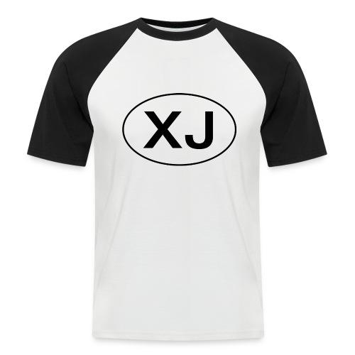 Jeep XJ Oval - Men's Baseball T-Shirt