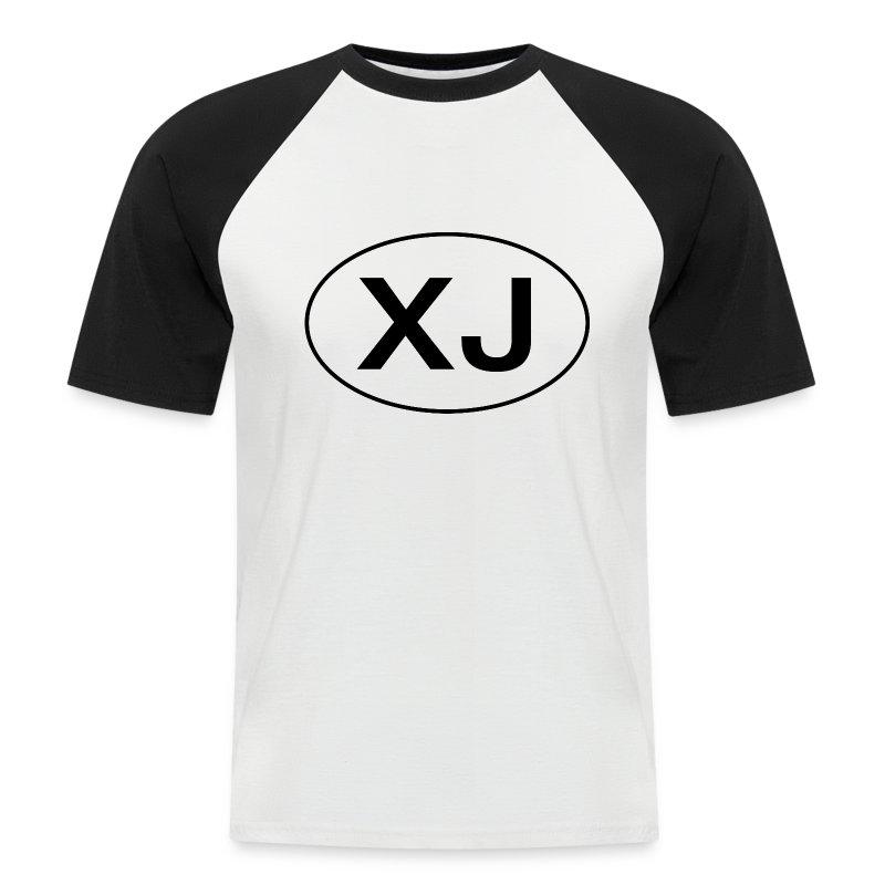 Jeep XJ Oval - Kortermet baseball skjorte for menn