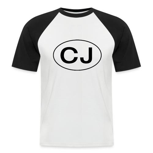 Jeep CJ Oval - Kortermet baseball skjorte for menn