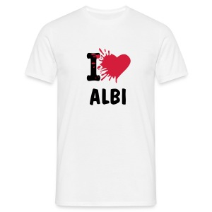 <3 Albi H - T-shirt Homme