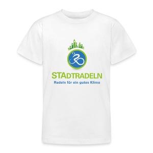 STAdtradeln Teenager-T-Shirt - Teenager T-Shirt