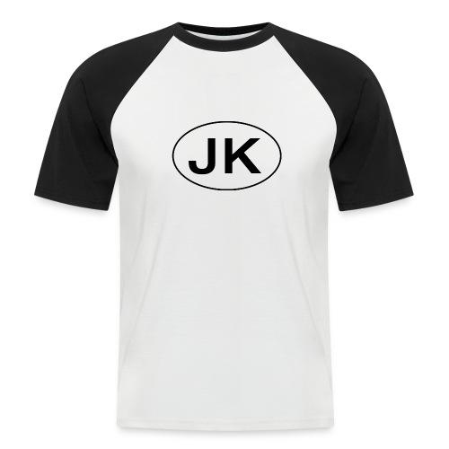 Jeep JK Wrangler Oval - Men's Baseball T-Shirt