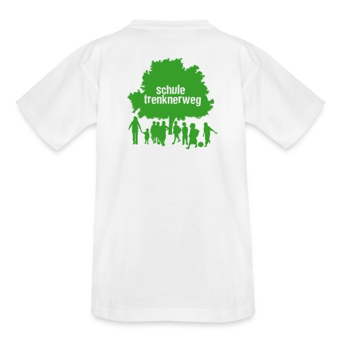 T-Shirt Logo - Grün - Rückseite - Kinder T-Shirt