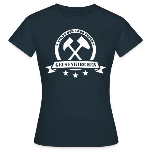 Girlie Stadt der 1000 Feuer - Frauen T-Shirt