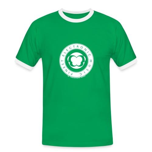 FINEST ELECTRONIC MUSIC - Männer Kontrast-T-Shirt