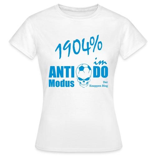 SPEZIAL Derbyshirt mit GLITZERMOTIV - Frauen T-Shirt