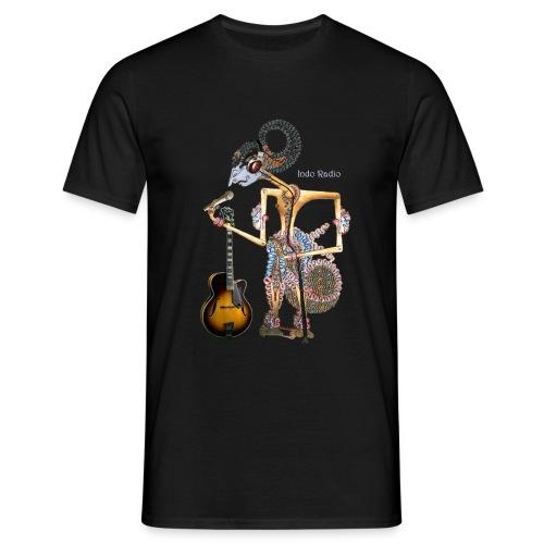 Wajang - man-1-zw - Mannen T-shirt