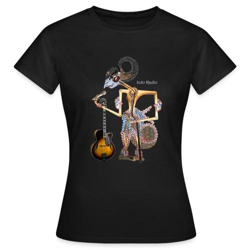 Wajang - vrouw-2-zw - Vrouwen T-shirt