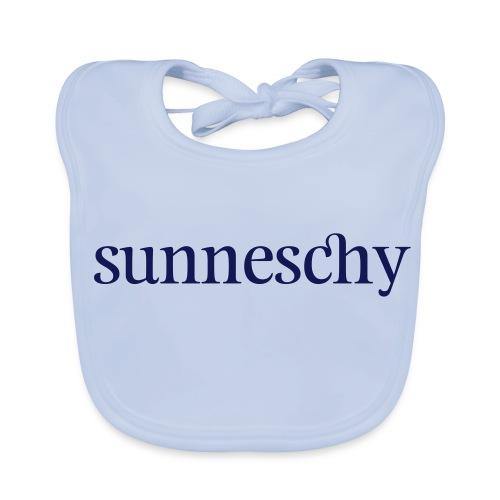 Original Schwarzwald sunneschy - Baby Bio-Lätzchen
