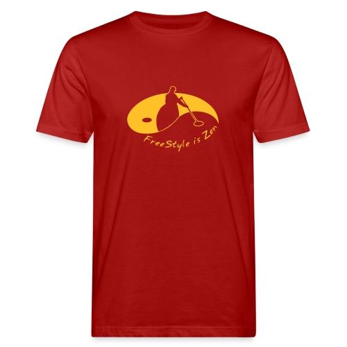 FreeStyle is Zen - Männer Bio-T-Shirt