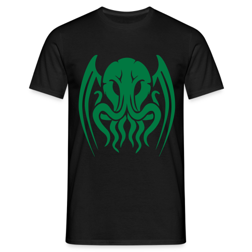 Glitter Green Cthulhu - Men's T-Shirt
