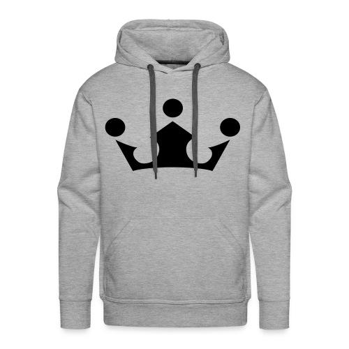 Beste Krone! (grau) - Männer Premium Hoodie