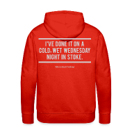 Hoodies & Sweatshirts ~ Men's Premium Hoodie ~ Cold, Wet Wednesday in Stoke (Hoodie)