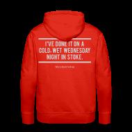 Hoodies & Sweatshirts ~ Men's Premium Hoodie ~ Cold, Wet Wednesday in Stoke (Hoodie)
