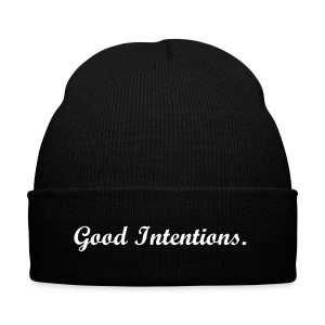 Good Intentions. - Winter Hat