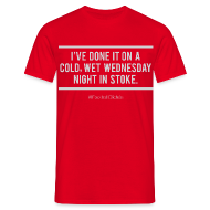 T-Shirts ~ Men's T-Shirt ~ Cold, Wet, Wednesday in Stoke