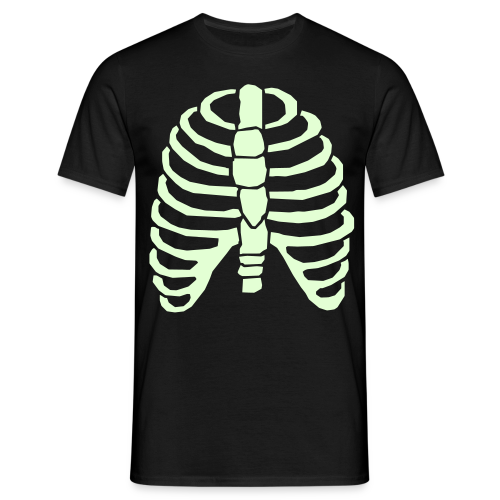 Glowing rib cage - Men's T-Shirt