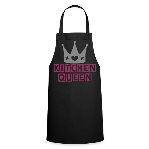 Kitchen Queen (Black) - Cooking Apron
