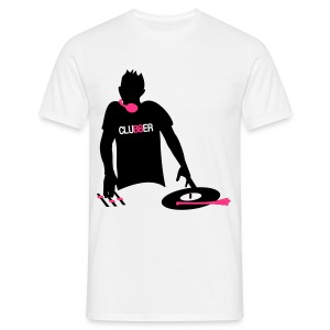 DJ CLUBBER - Men's T-Shirt
