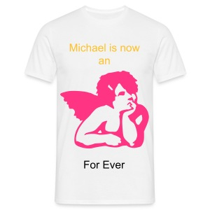 Michael is now an Angel - T-shirt Homme