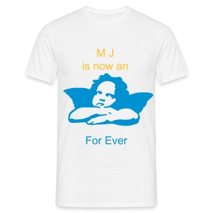 Michael is now an Angel 002 - T-shirt Homme