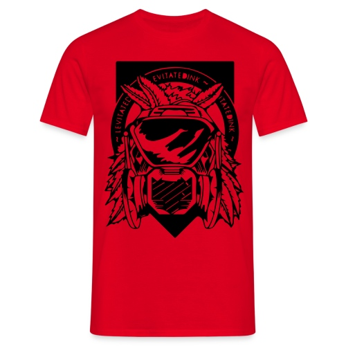 Apache Slim Fit Red - Men's T-Shirt