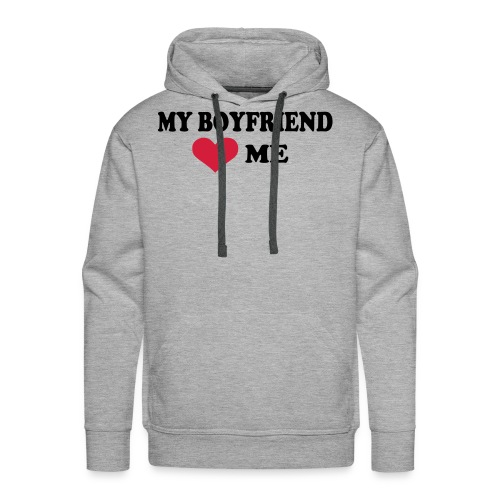 showing your love - Men's Premium Hoodie