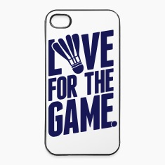 badminton - love for the game Phone & Tablet Cases