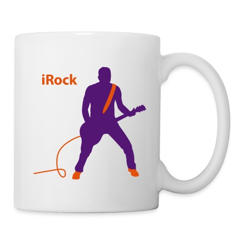 Tasse I Love Rock 001 - Mug blanc