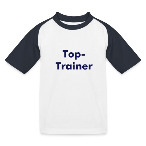 Top-Trainer - Kinder Baseball T-Shirt