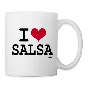 Tasse I Love Salsa 001 - Mug blanc