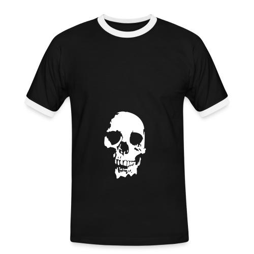 homme tete d mort - T-shirt contrasté Homme