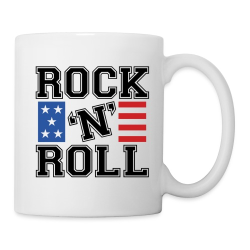 Tasse I Love ROCK'N ROLL 002 - Mug blanc