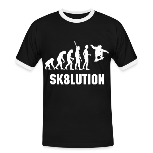SK8LUTION - Men's Ringer Shirt
