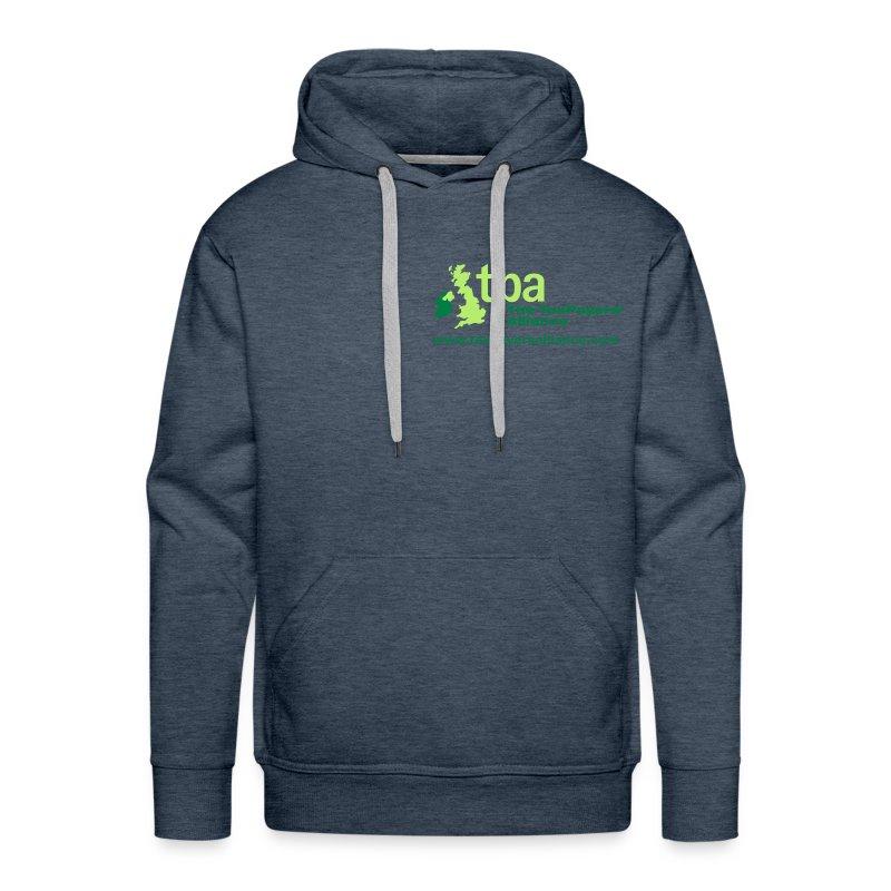 tpa_logo_cmyk_2_spots_wo - Men's Premium Hoodie