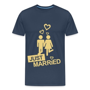 Just Married T-Shirt Traps - Maglietta Premium da uomo