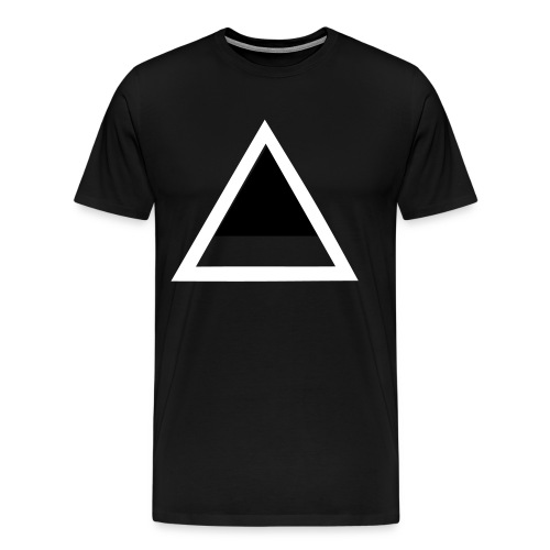 Exclusive luck TriANGLE - Men's Premium T-Shirt
