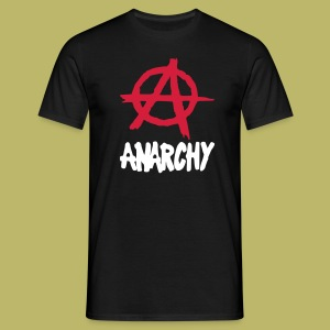 t-shirt anarchy - T-shirt Homme