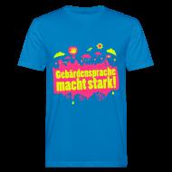 T-Shirts ~ Männer Bio-T-Shirt ~ DGS macht stark (Bio Männer)