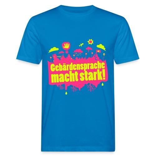 DGS macht stark (Bio Männer) - Männer Bio-T-Shirt