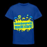 T-Shirts ~ Teenager T-Shirt ~ DGS macht stark (Teenager)