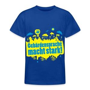 DGS macht stark (Teenager) - Teenager T-Shirt