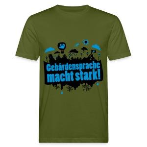 GS macht stark - Bio Tshirt Männer - Männer Bio-T-Shirt