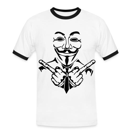 T-shirt contrasté Homme - anonymous