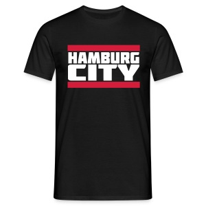 Hamburg City - Männer T-Shirt